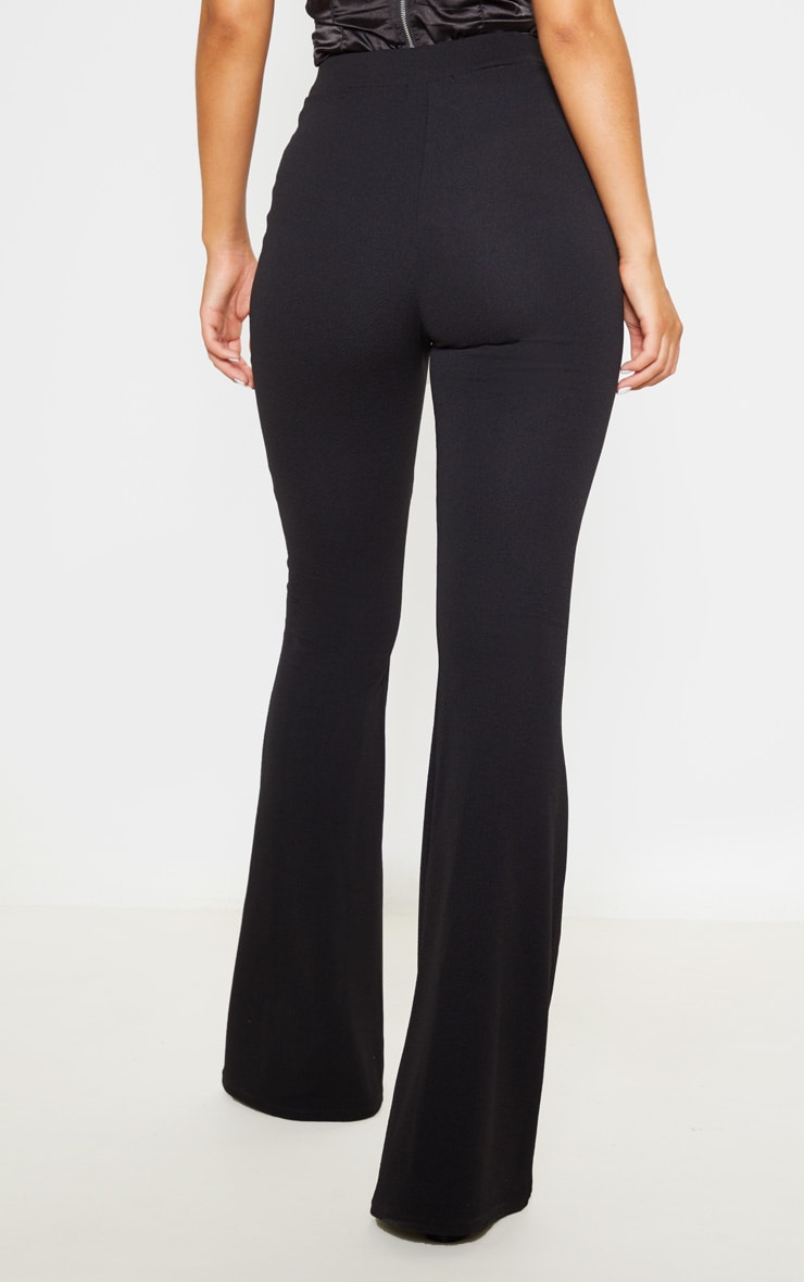 Black Flared Trouser 4