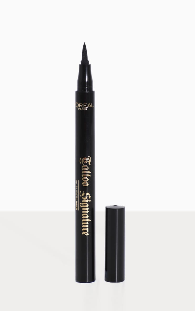 L'Oréal Paris Tattoo Signature 24HR Liquid Eyeliner Black image 1