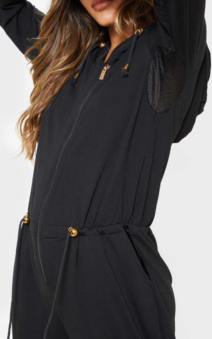 Bronzie Chelsea After Tan Jumpsuit Black 5