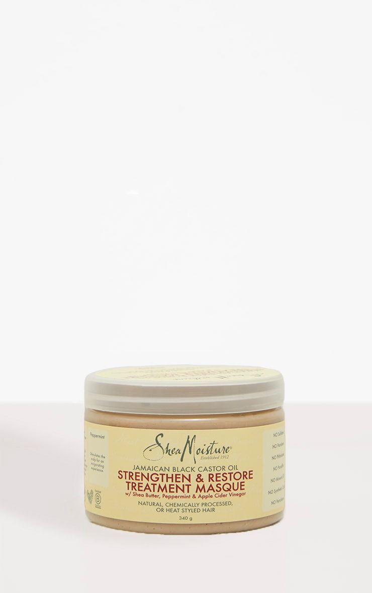 Shea Moisture Jamaican Black Castor Treatment Masque 3