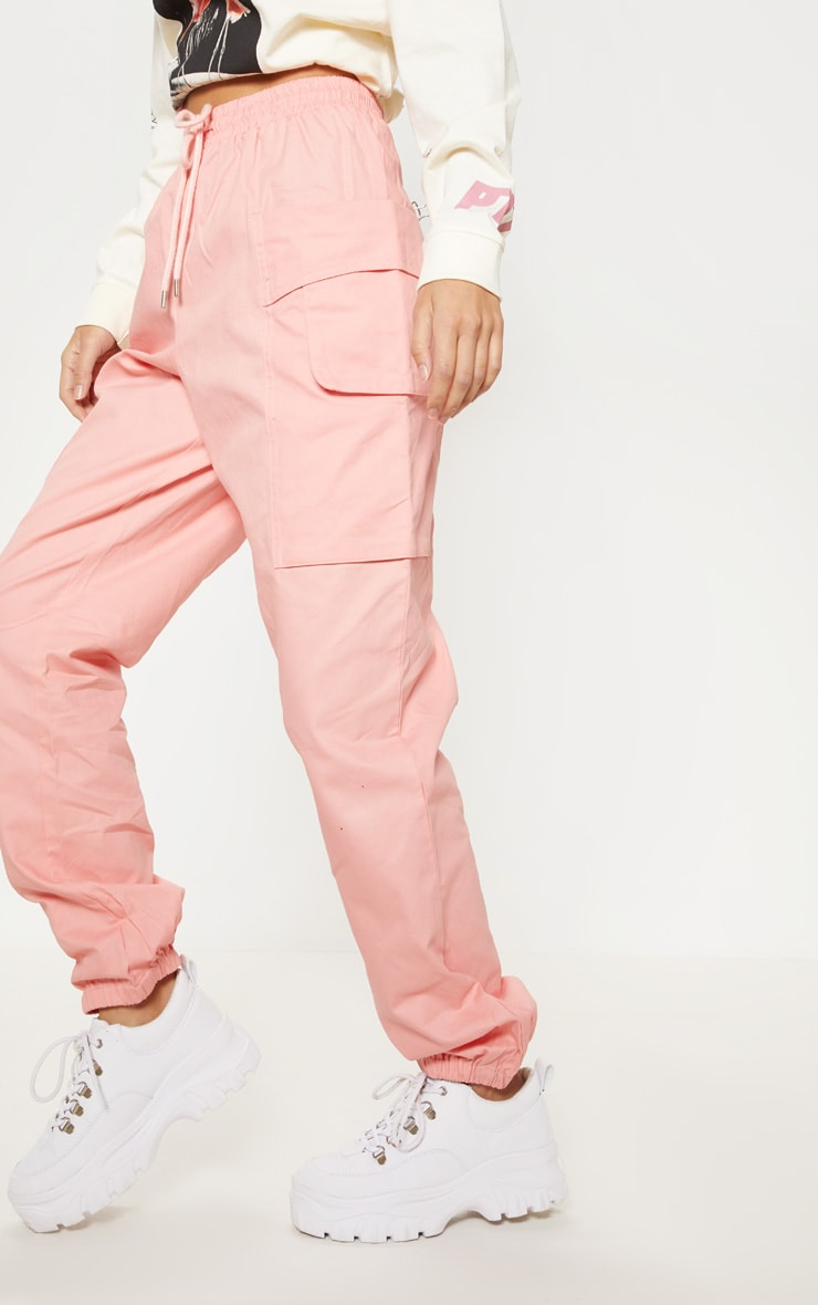 Rose Double Pocket Detail Cargo Pant 2