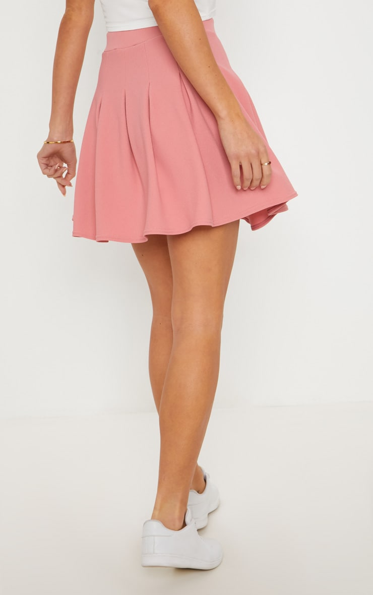 Blush Pleated Tennis Skirt 4