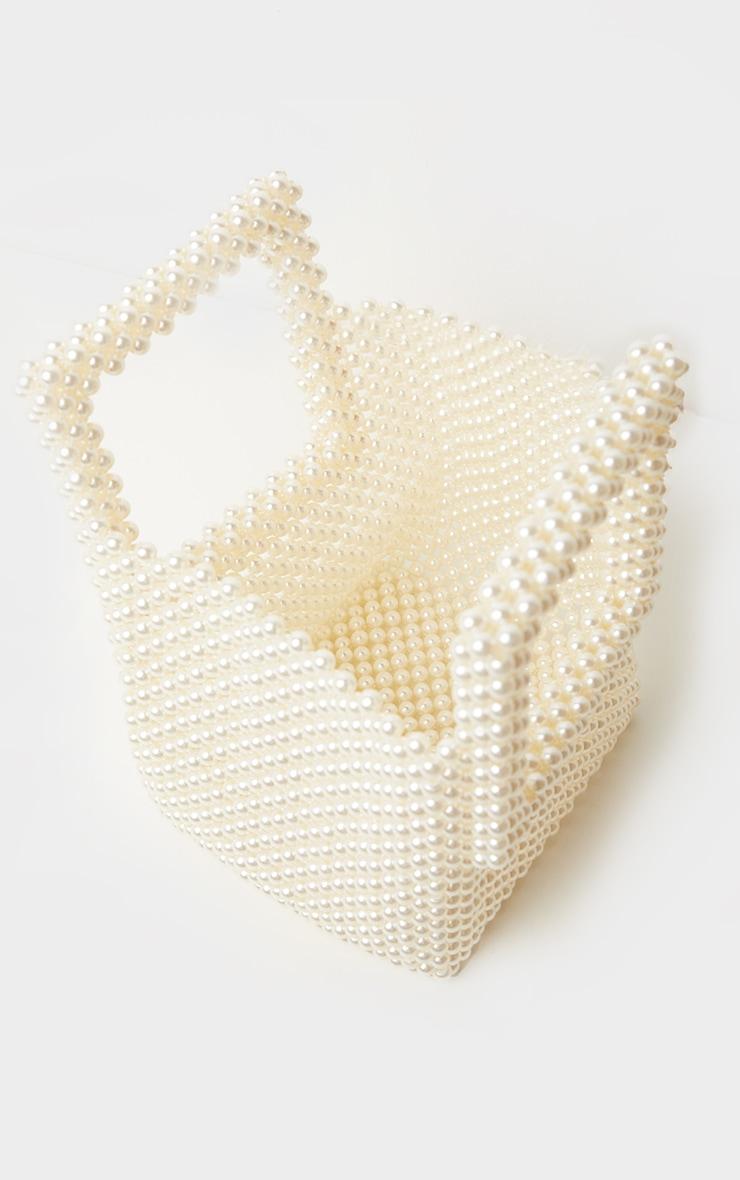 White Pearl Bucket Mini Grab Bag 1