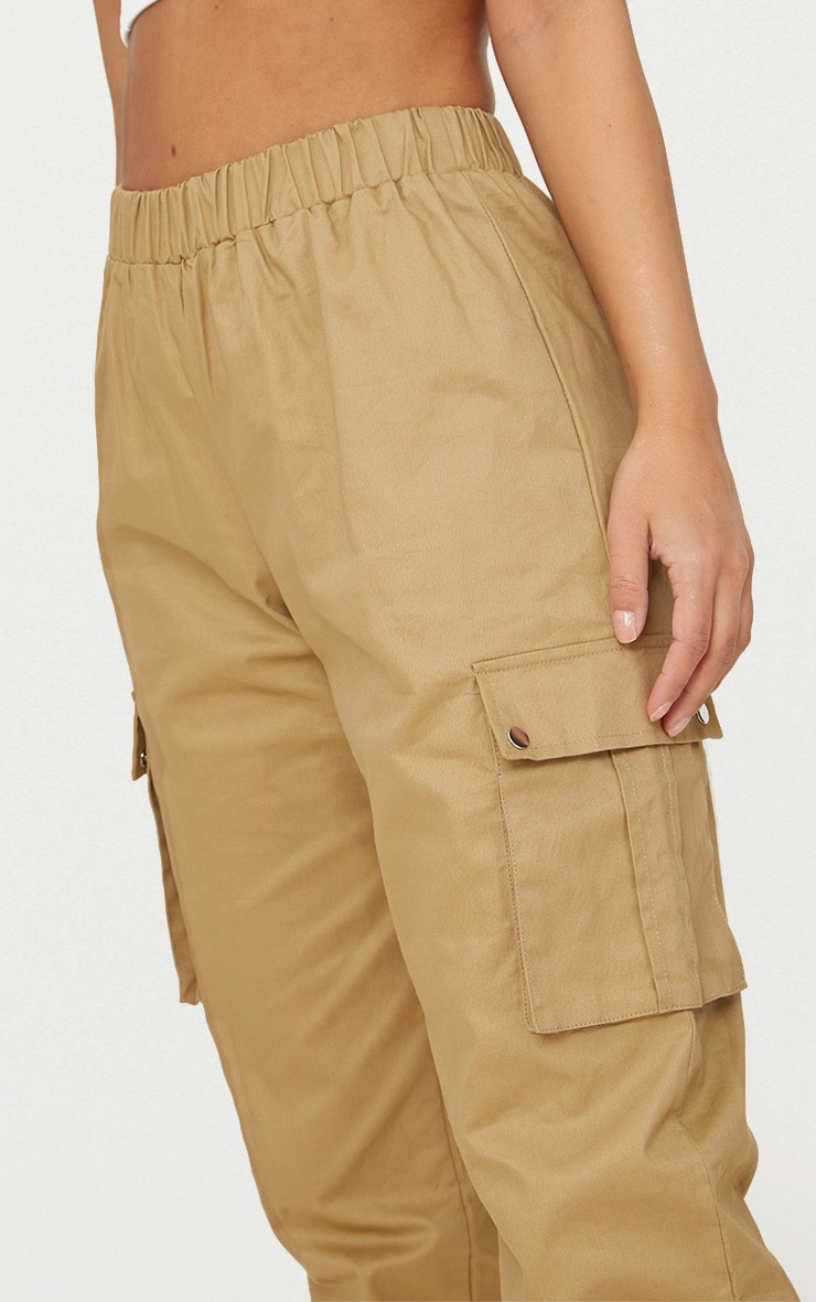 Petite Stone Pocket Detail Cargo Trousers 5