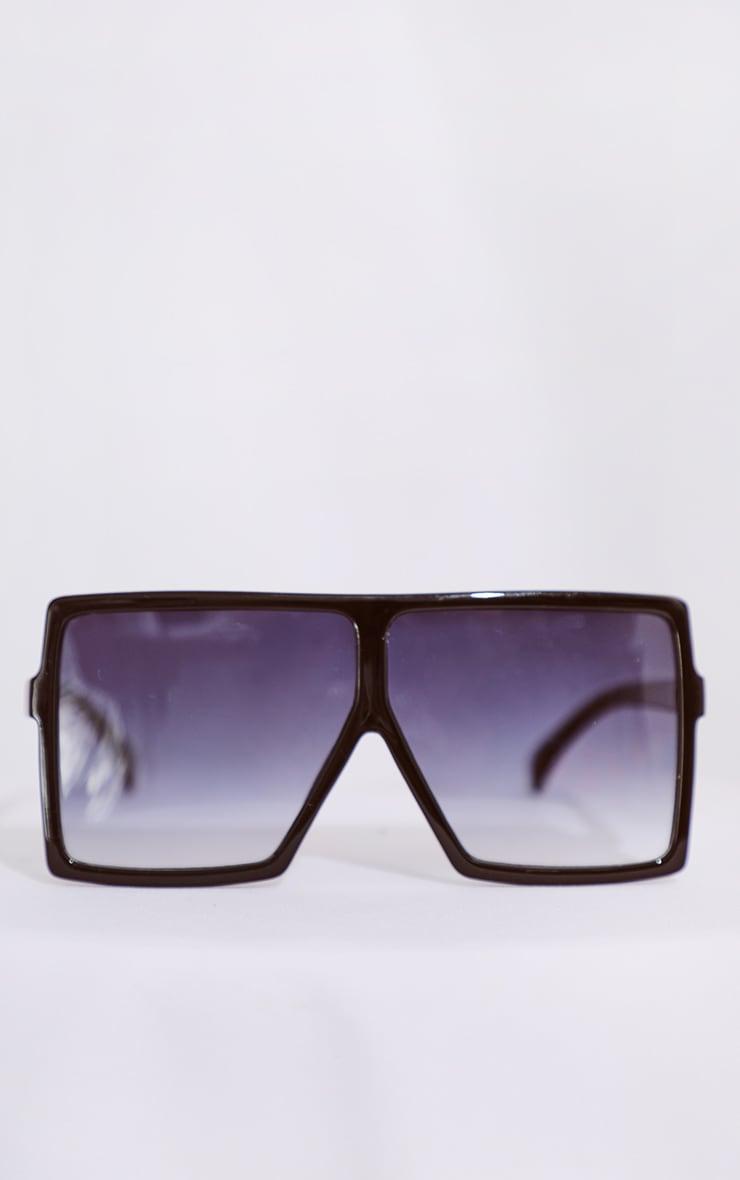 Black Gradient Oversized Sunglasses 2
