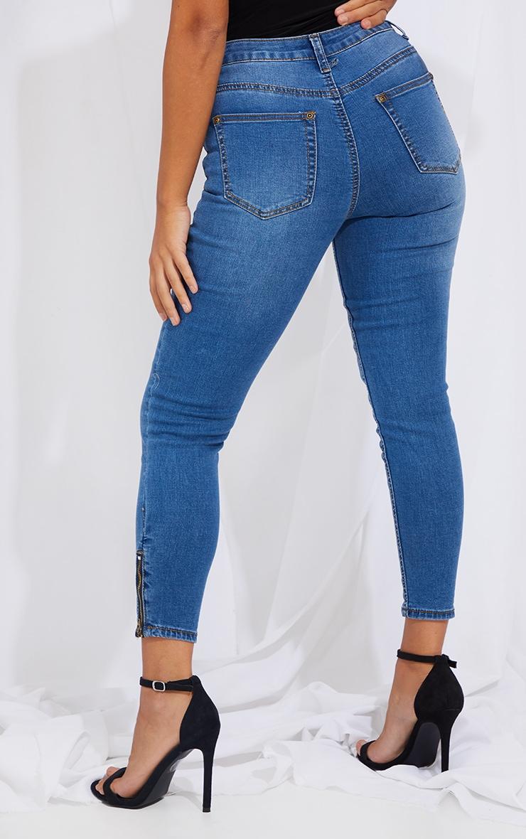 Petite Midwash Ankle Grazer Skinny Jean 3