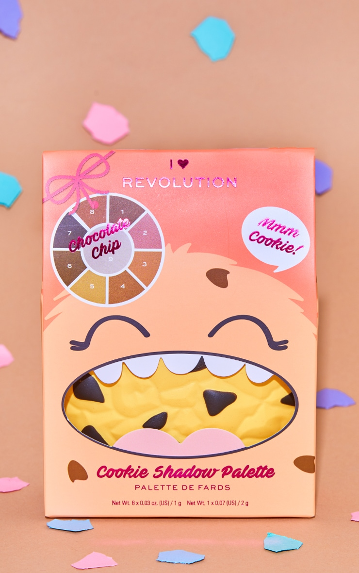 I Heart Revolution Chocolate Chip Cookie Palette 3