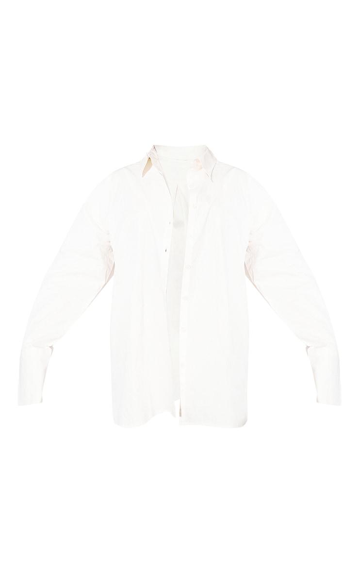 RENEW Cream Oversized Cuff Shirt 5