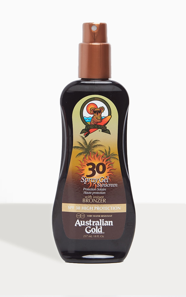 Australian Gold Spf 30 Spray Gel with Bronzer 1