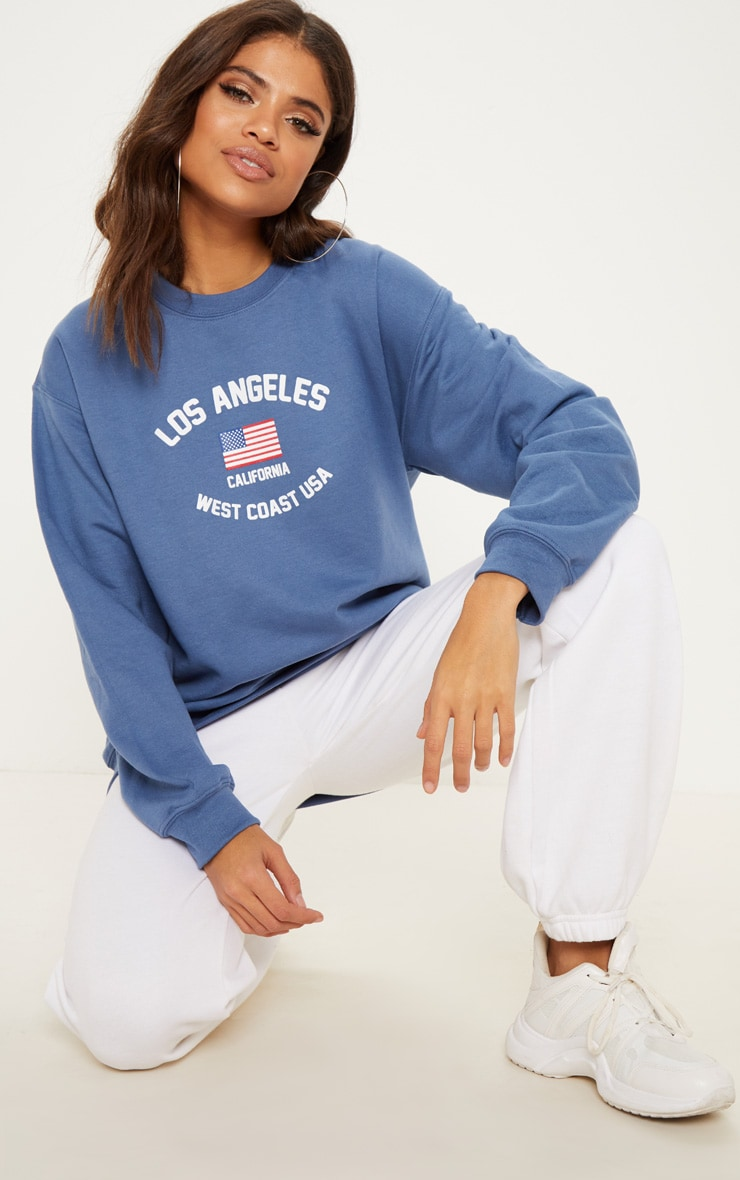 Indigo Blue Los Angeles Sweater