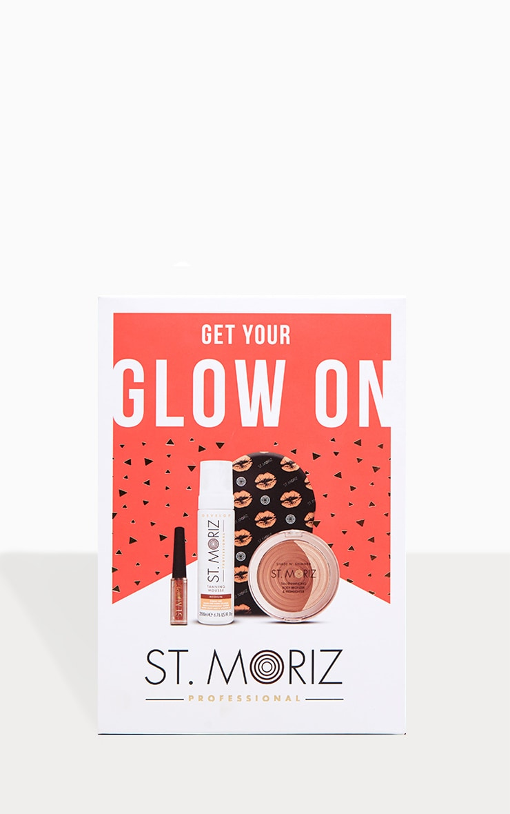St Moriz Get your Glow On Christmas Tanning Set 2
