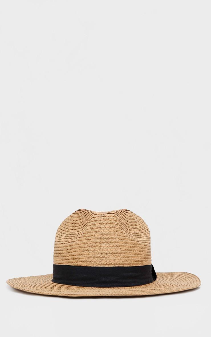 Straw Trilby Hat 4