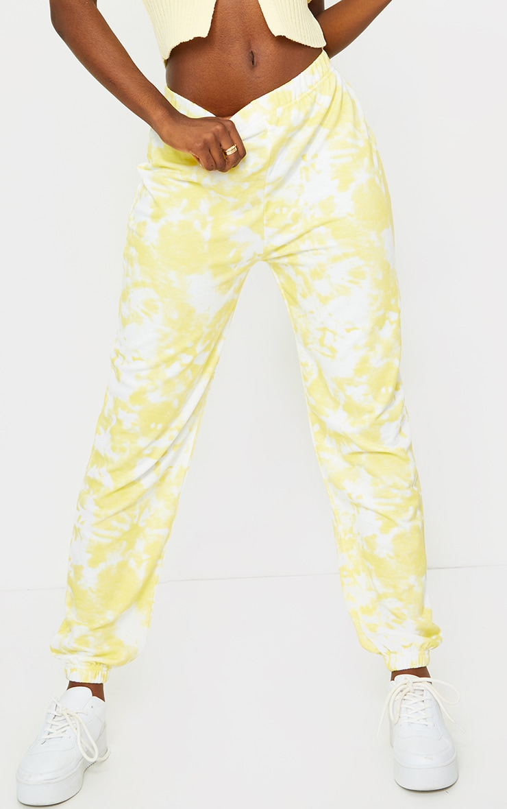 Tall Yellow Tie Dye Jogger 2