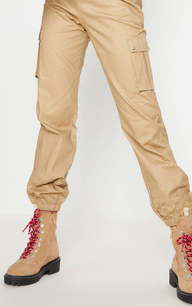 Stone Pocket Detail Cargo Trousers 6