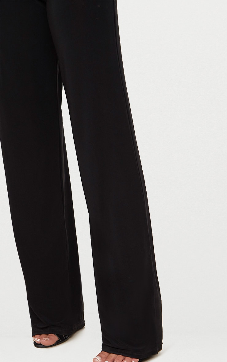Petite - Pantalon large noir  5