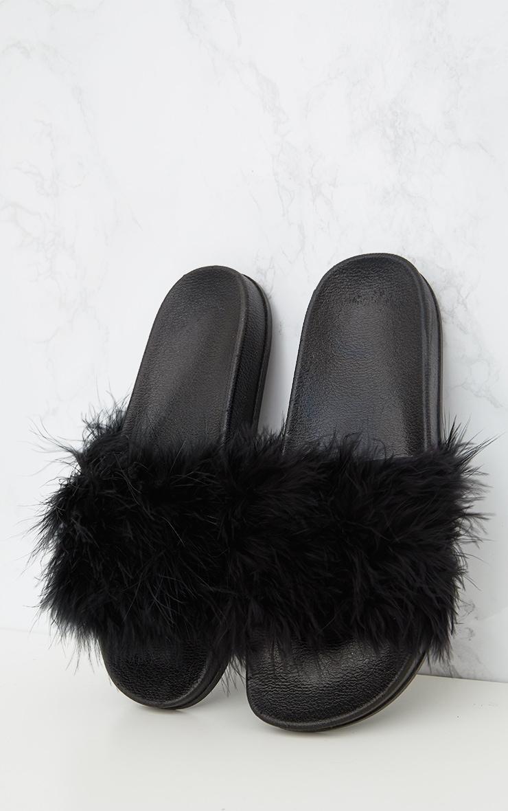 Black Feather Sliders 2