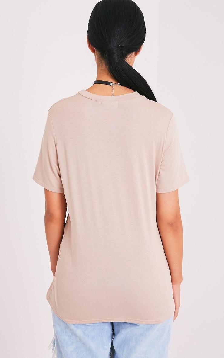 Ritch Bich Nude Oversized T Shirt 2