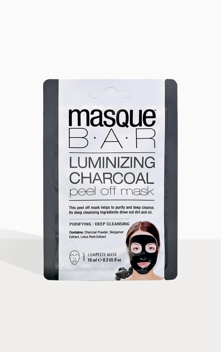 Masque Bar Luminizing Charcoal Peel Off Mask 1