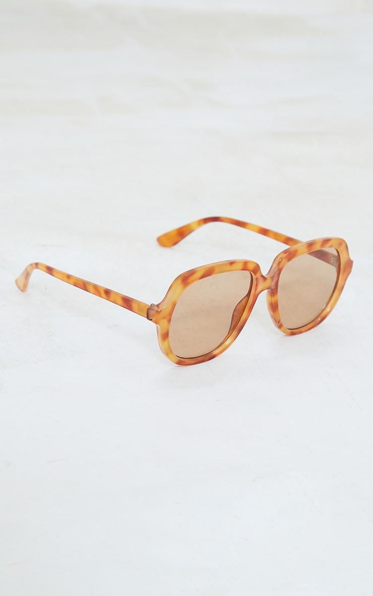 Tort Oversized Round Sunglasses 2