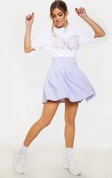 Lilac Pleated Tennis Skirt 5