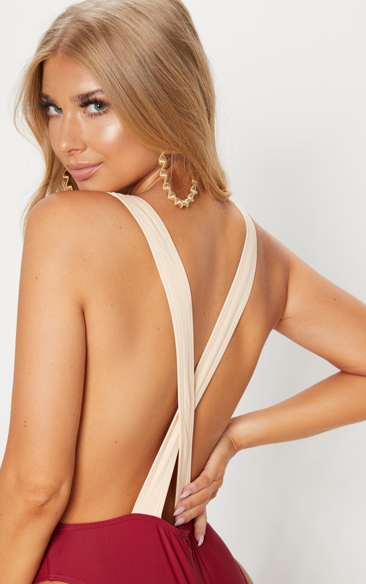 Gretchen Nude Cut Out Swimsuit 6