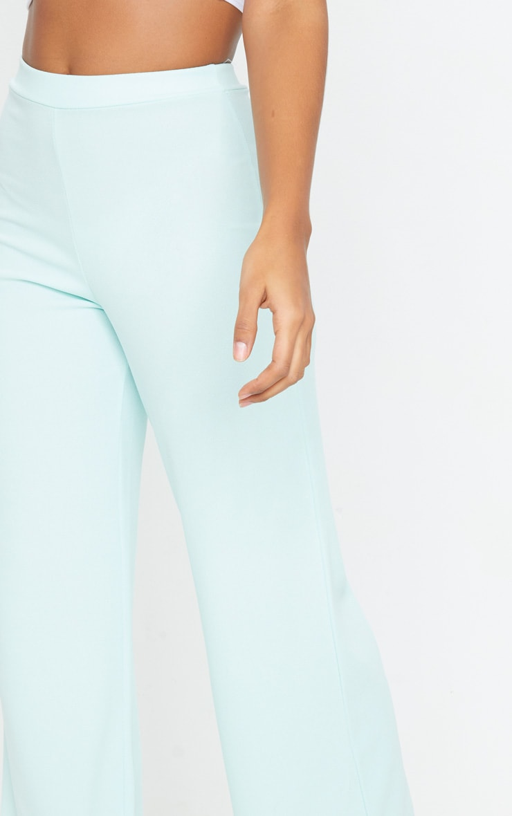 Mint High Waisted Wide Leg Pants 4