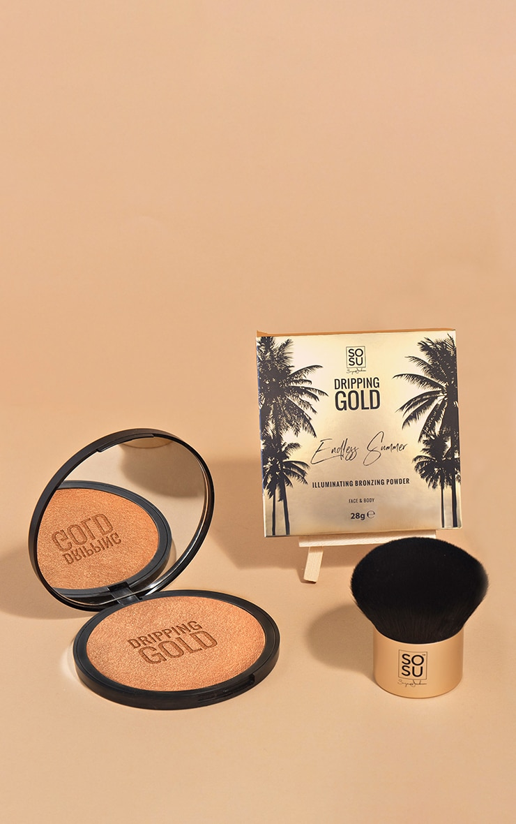 SOSUBYSJ Dripping Gold Large Bronzer Shimmer 1