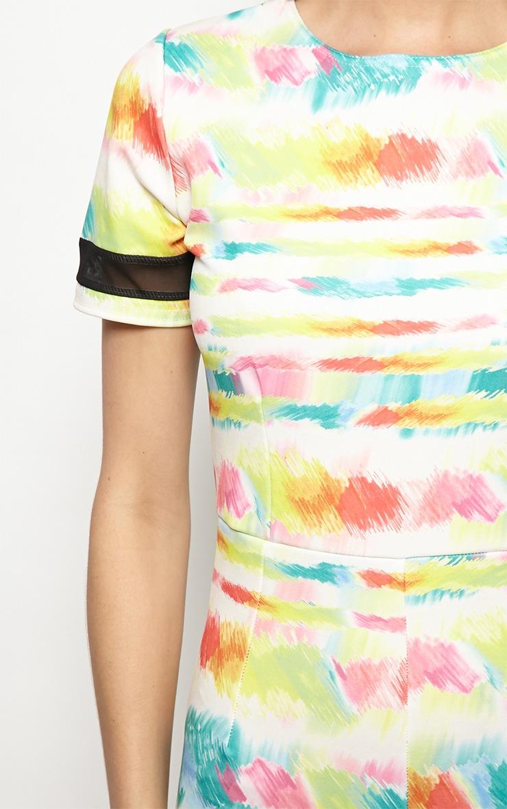 Isobel Graphic Paint Splash Print Jumpsuit  4