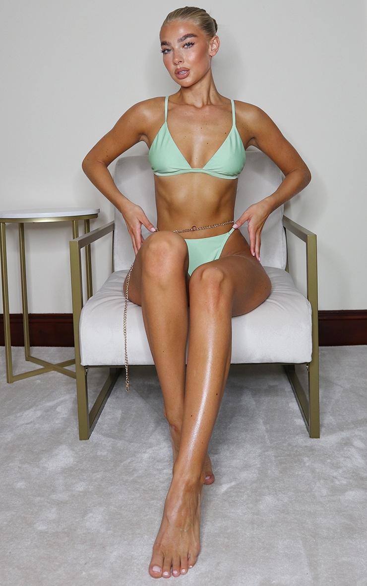 Sage Green Mix & Match Itsy Bitsy Bikini Bottoms 4