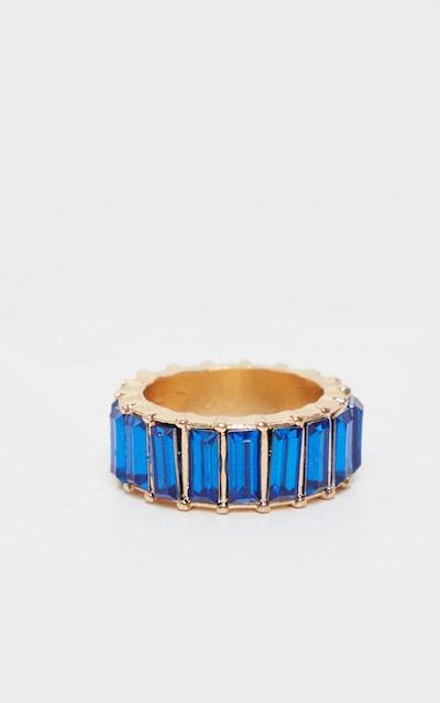 Royal Blue Eternity Band Ring