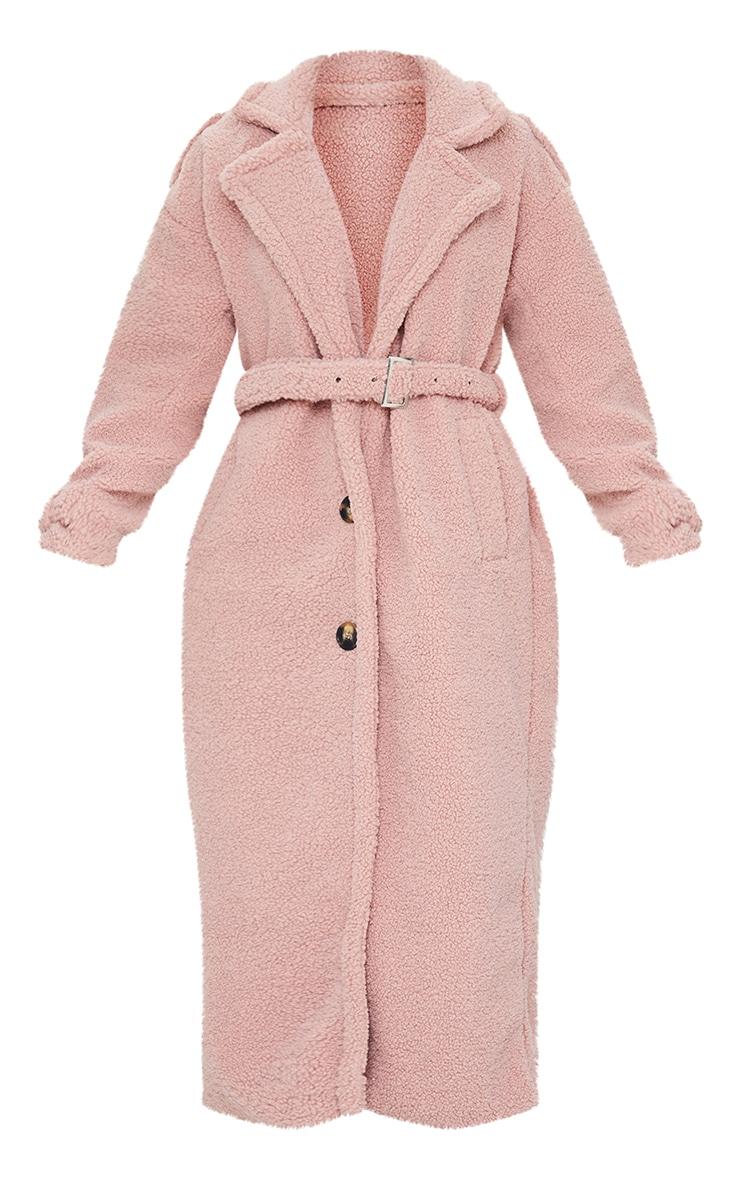 Rose Borg Oversized Belted Coat 5