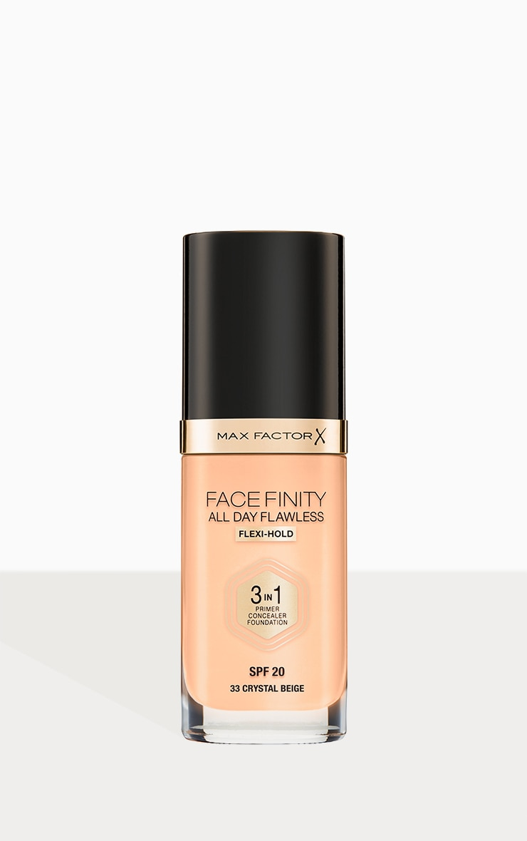 Max Factor Facefinity All Day Flawless Foundation Crystal Beige 1