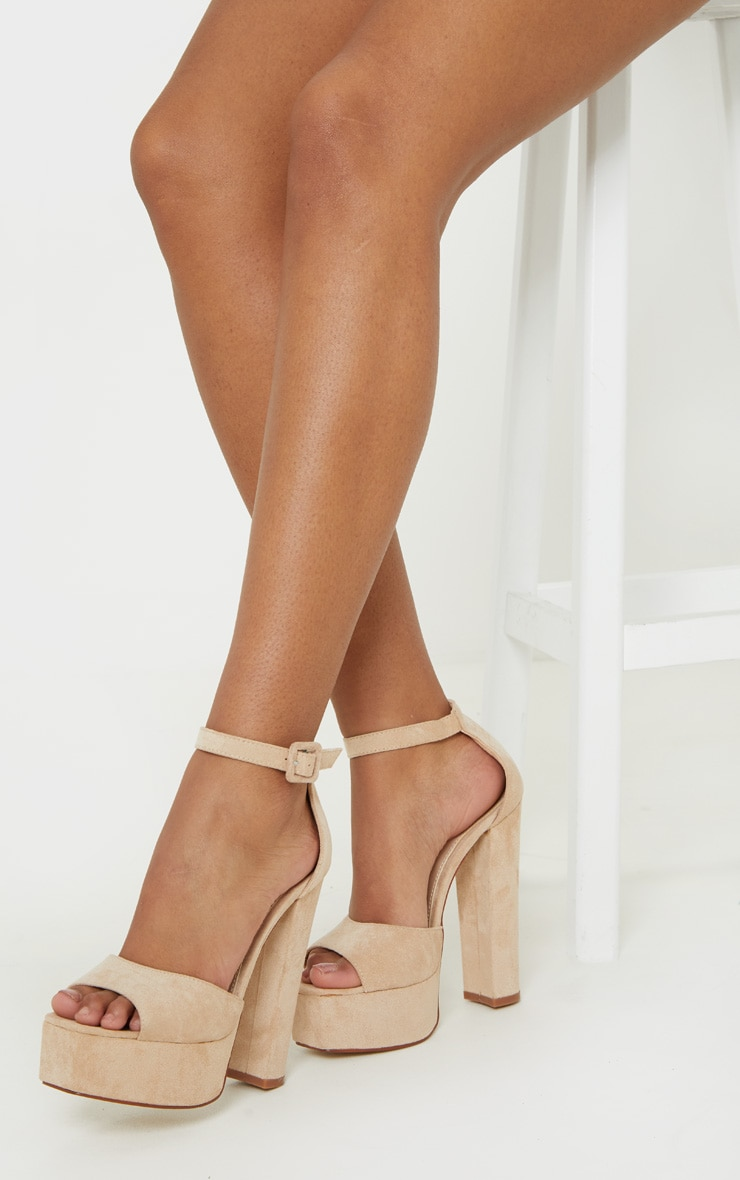 Nude Platform High Sandal 1