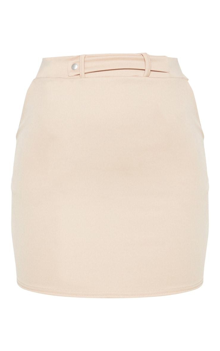 Stone Basic Pocket Detail Mini Skirt  3