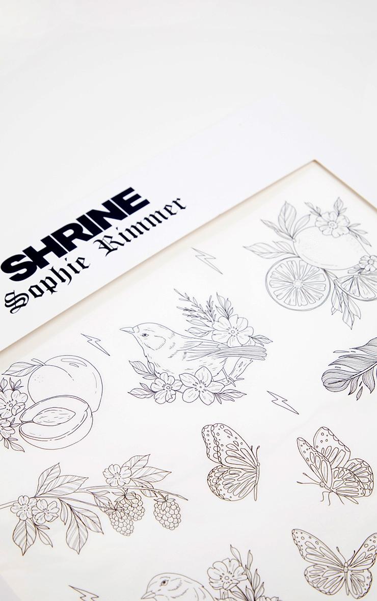 Shrine x Sophie Rimmer Birds Temporary Tattoos 2