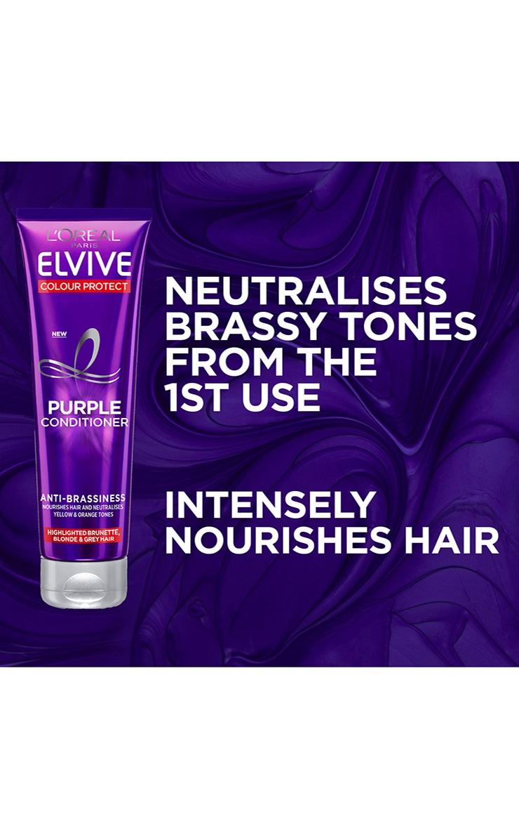 L'Oreal Elvive Colour Protect Anti-Brassiness Purple Conditioner 150ml 5