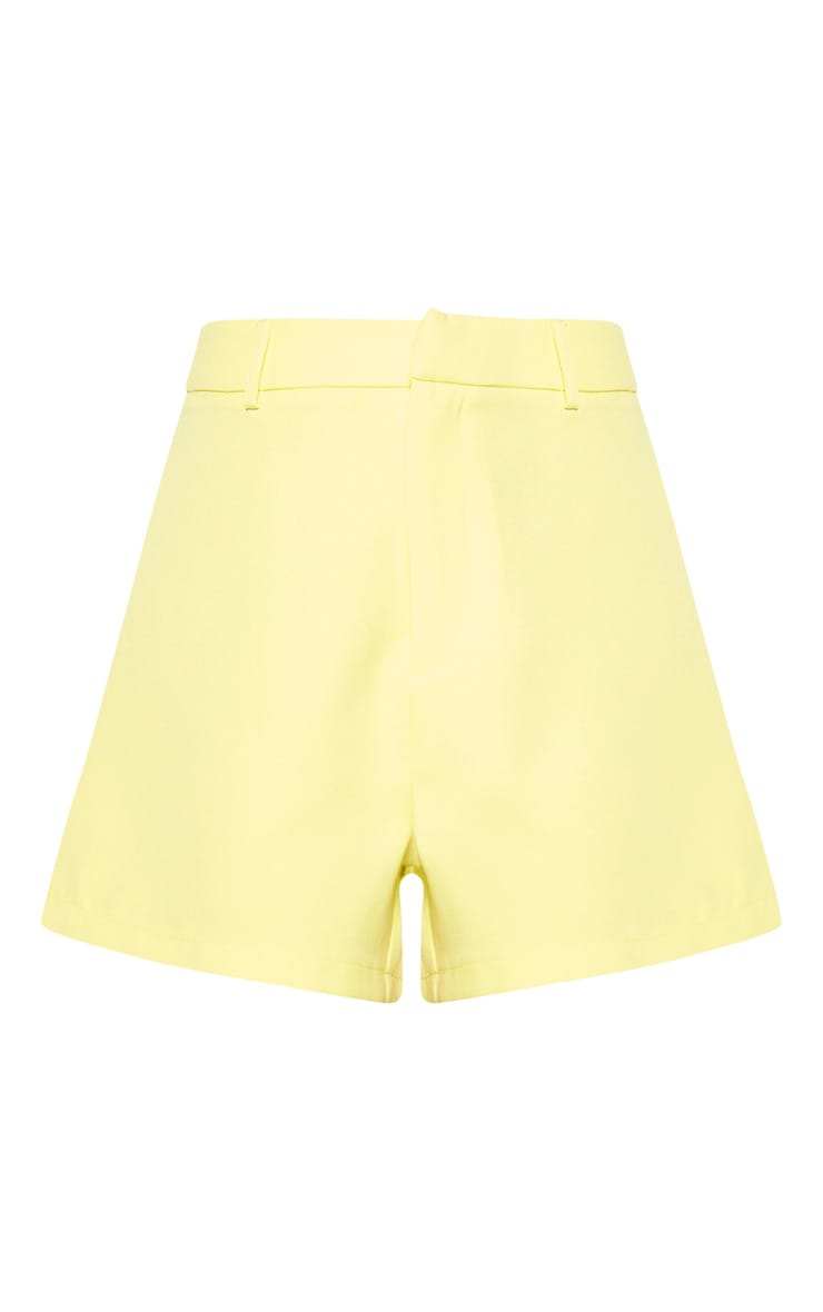 Bright Yellow Suit Short 3