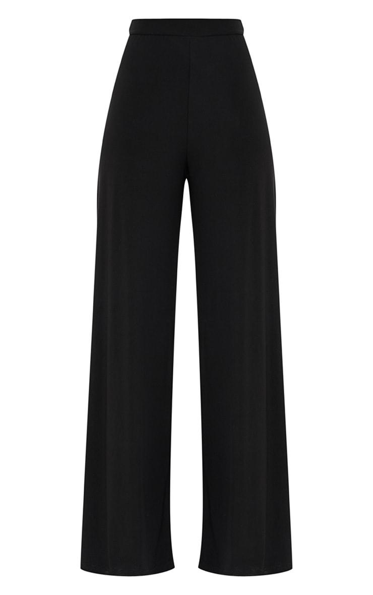 Jill Black Slinky Palazzo Trousers 3