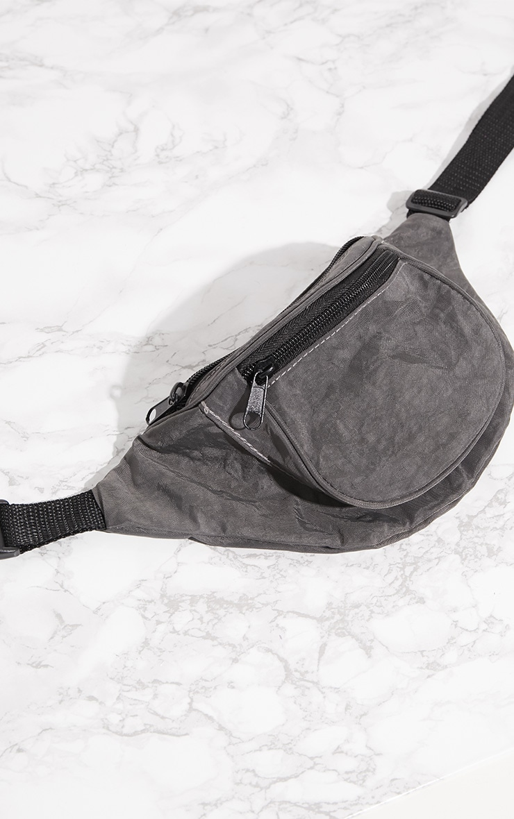 Grey Small Fanny Pack 4