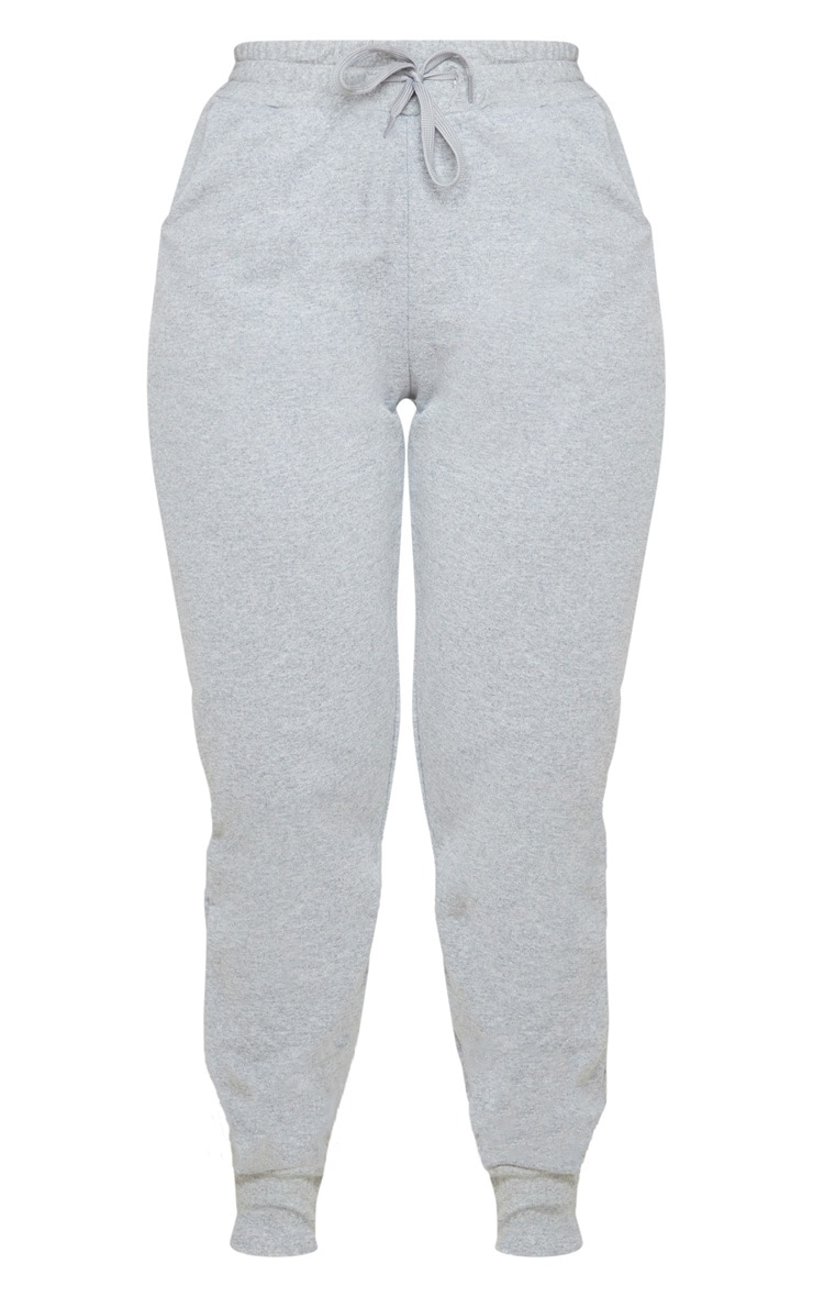 PRETTYLITTLETHING Grey Basic Gym Sweat Jogger 3