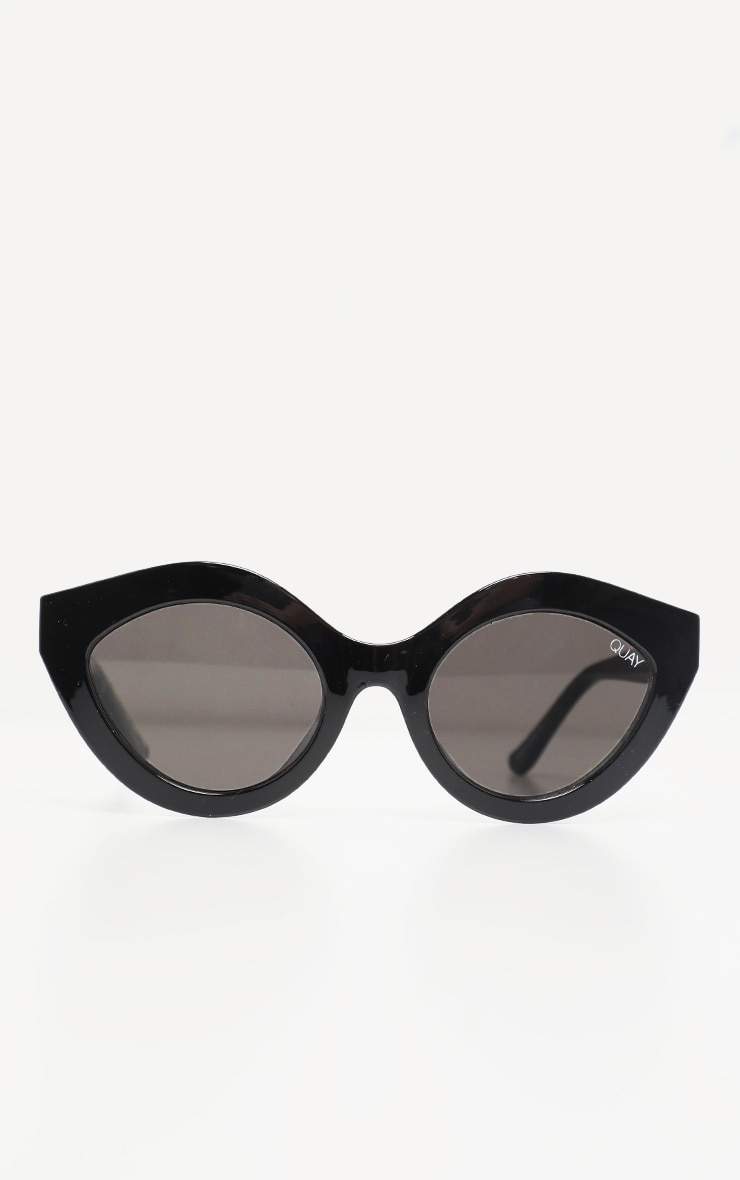 QUAY AUSTRALIA Black Goodnight Kiss Sunglasses 2