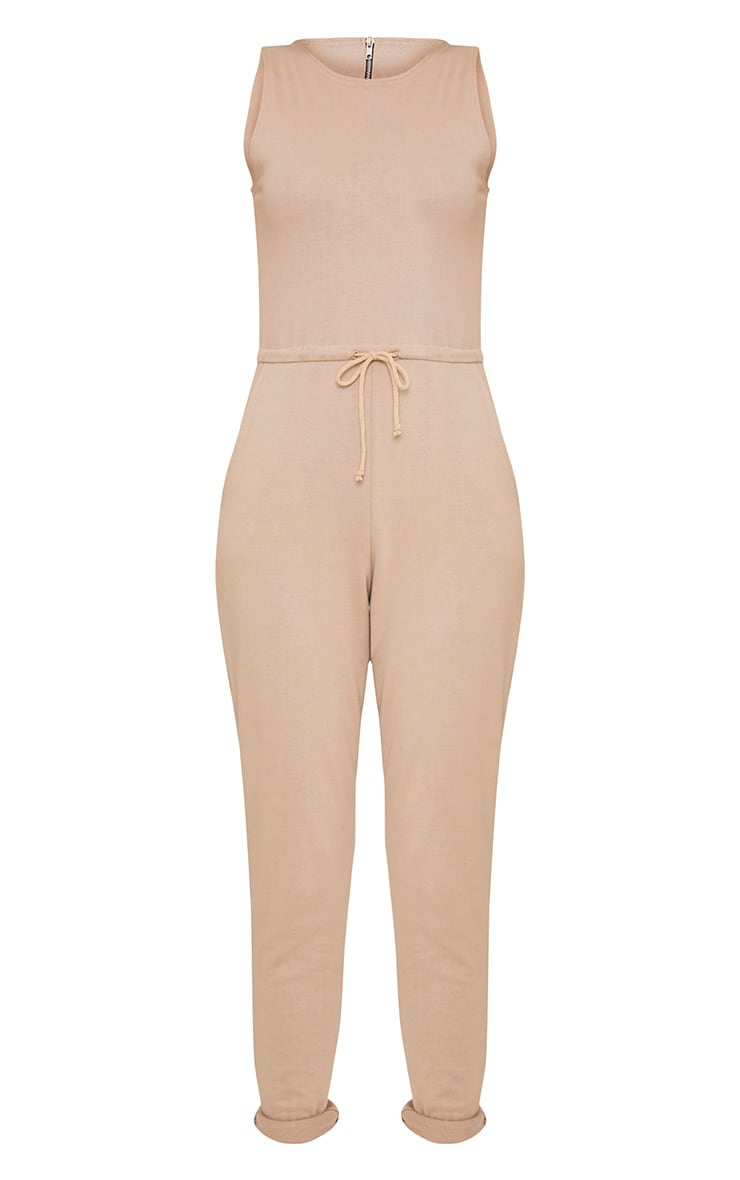 Sofie Nikki Taupe Sweat Jumpsuit  3