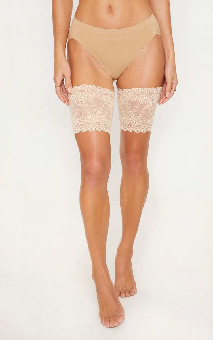Nude Lace Chafing Bands 2