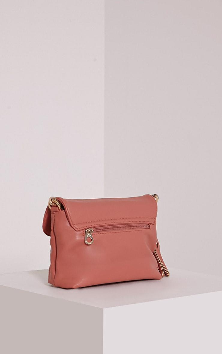 Ezrah Pink Tassel Bag 4