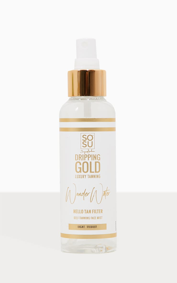 SOSUBYSJ Dripping Gold Medium Tanning Wonder Water  2