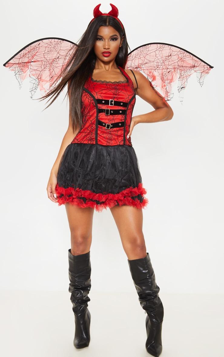 Red Devil Fairy Costume 1