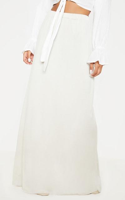 Sand Basic Floaty Maxi Skirt