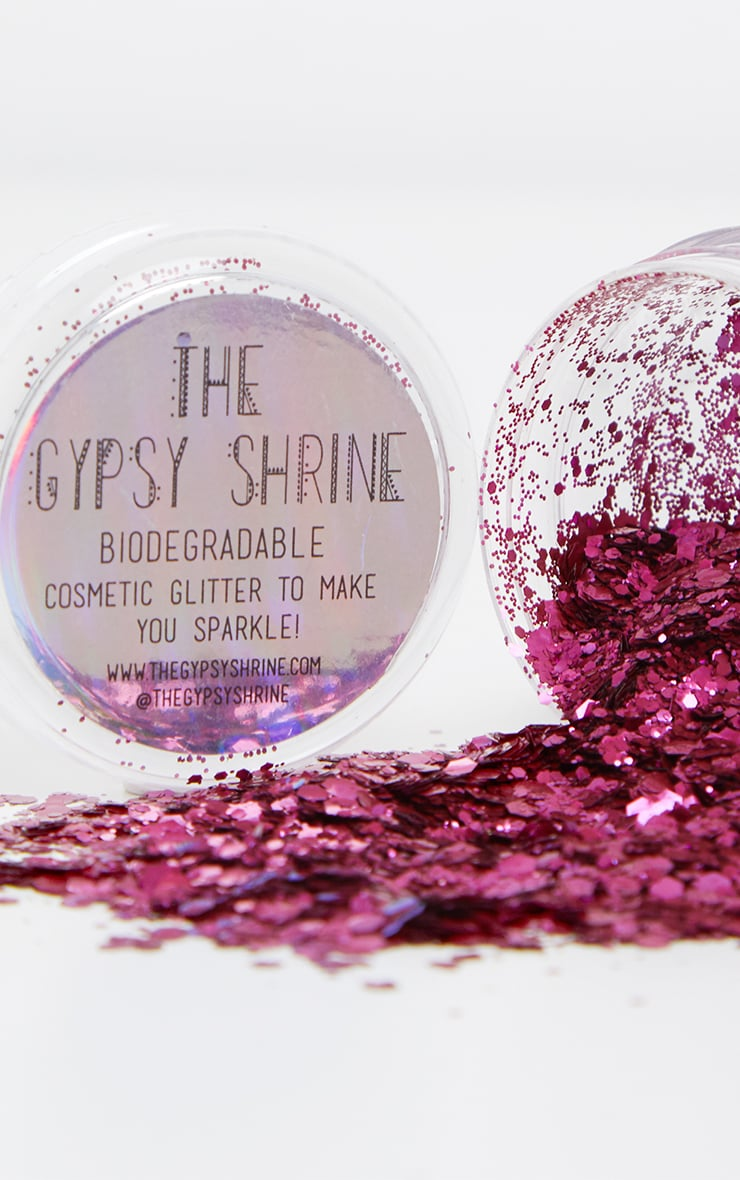 SHRINE Biodegradable Chunky Pink Glitter 1