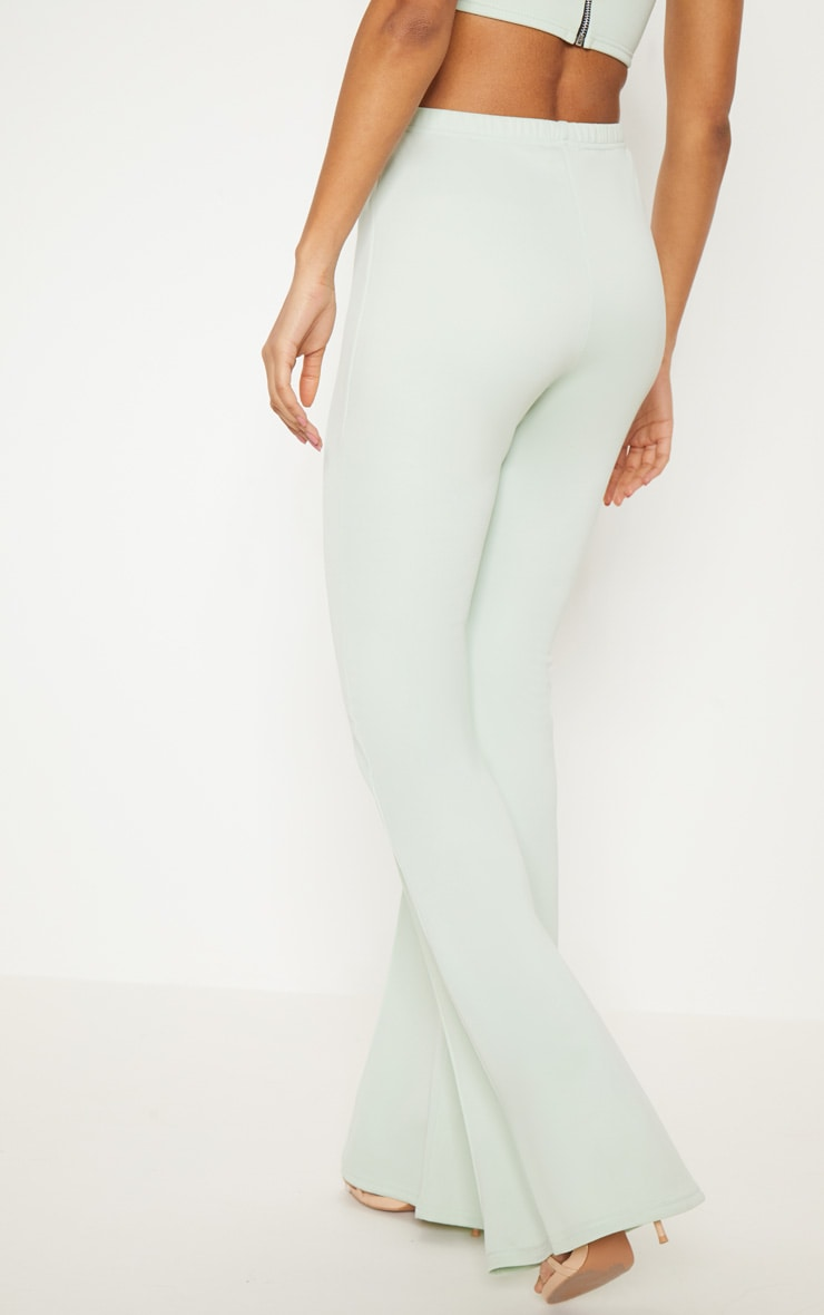 Mint High Waist Extreme Flare Long Leg Pants  4