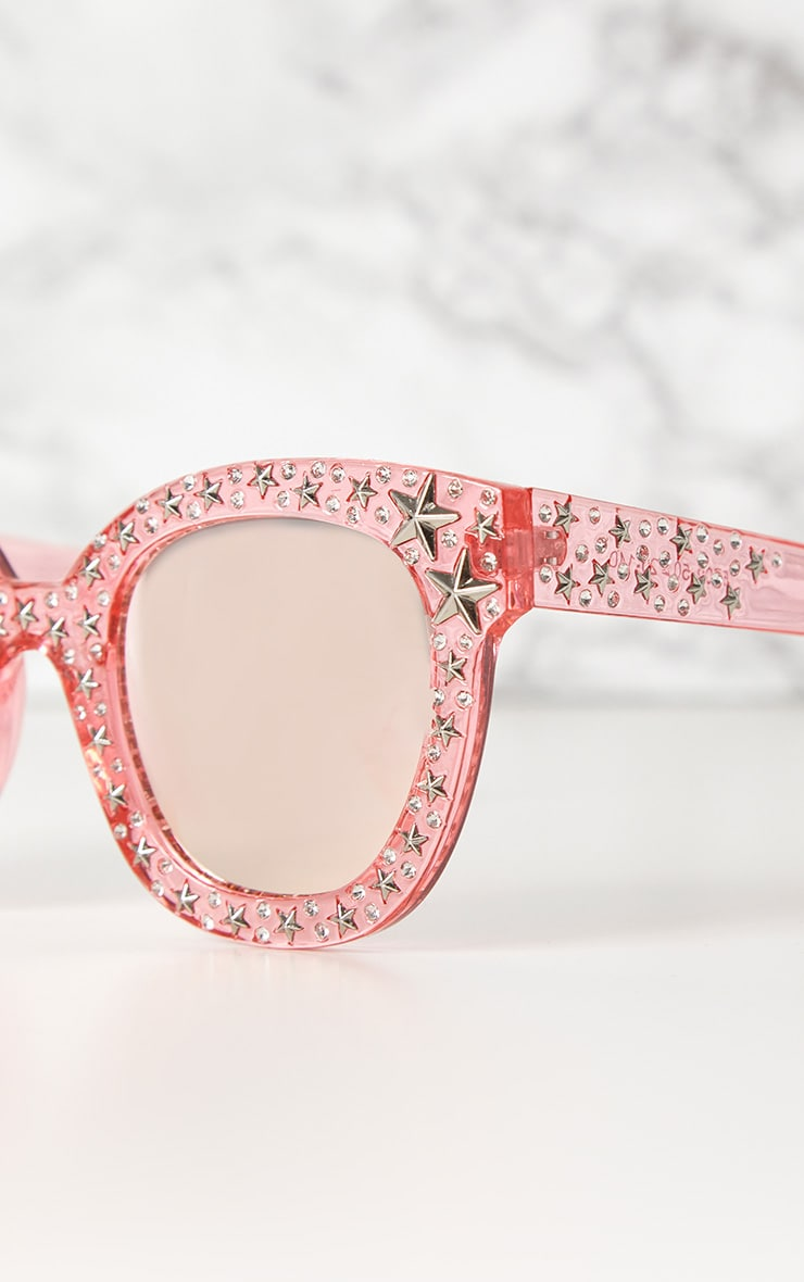 Pink Star Stud Sunglasses 3